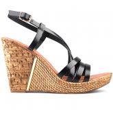 дамски ежедневни сандали черни 0124925