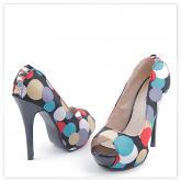 Дамски сандали на висок ток 0113706